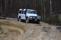 The Landy ... does it the hard way - show off