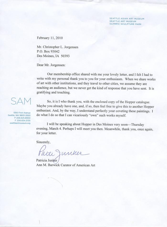 Jackass Letters Dear Seattle Art Museum
