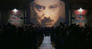big brother orwell rally privacy loss