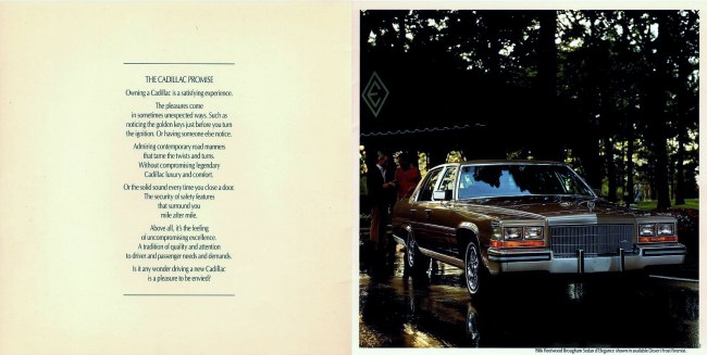 1986 Cadillac Fleetwood Brougham Maximum Broughamage Riverside Green