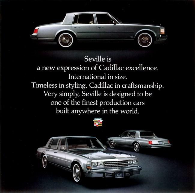 1977 Cadillac Seville: GM's Smash Hit! - Riverside Green