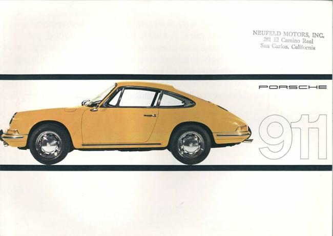 1966 911 brochure