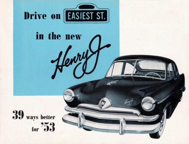 53 Henry J brochure