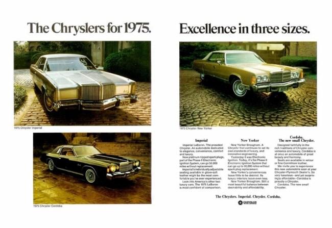 1975 Chryslers