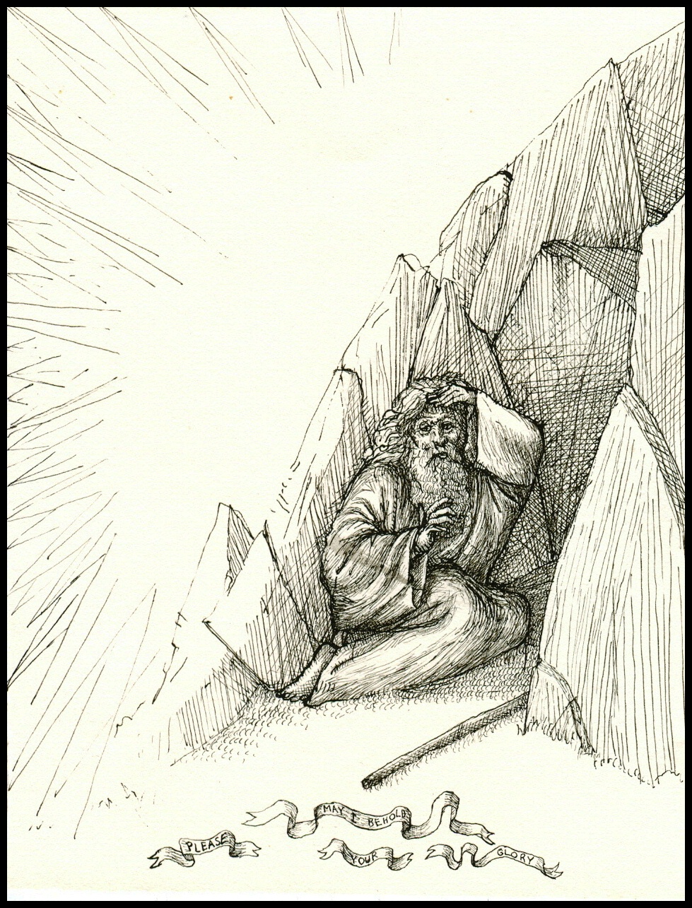 Moses in the Cleft of a Rock