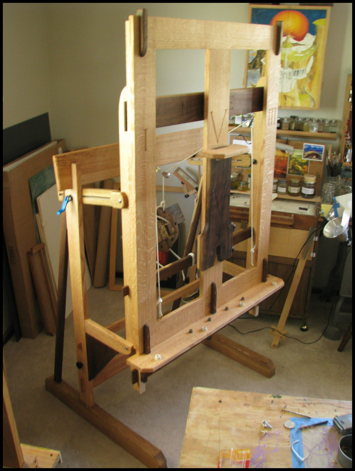 Studio Easel The School Of The Transfer Of Energy