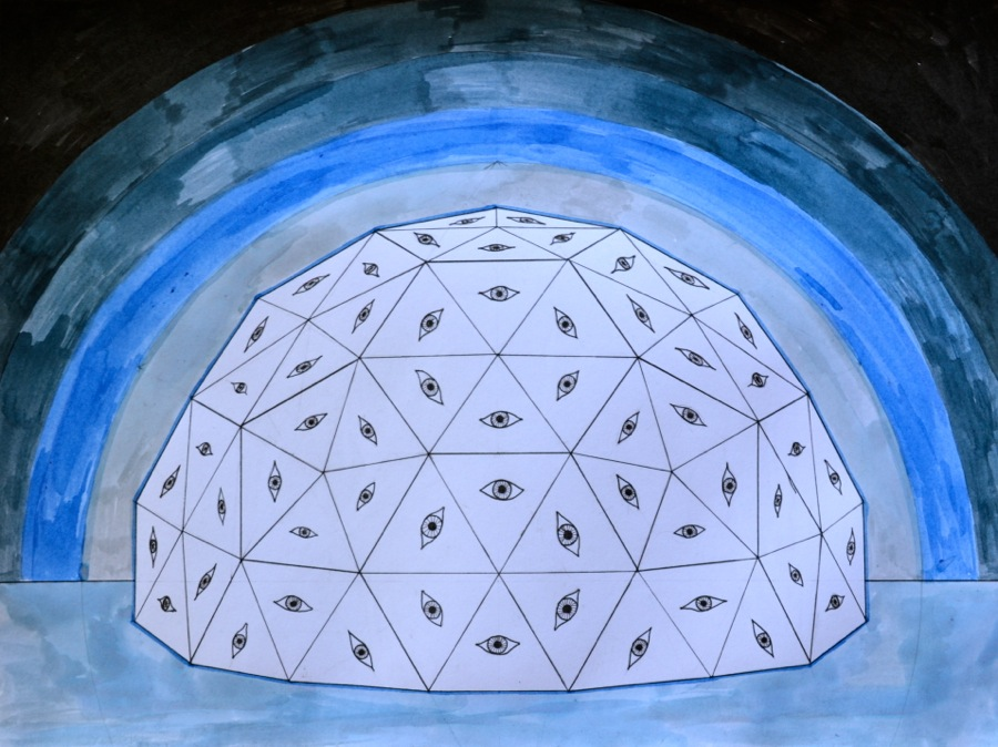 Crystal Geodesic Dome The School Of The Transfer Of Energy