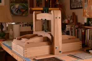 Printing Press (White Oak)