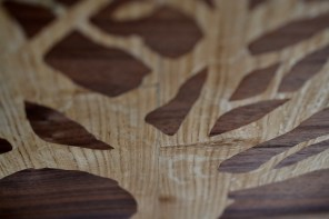 NC tree inlay detail