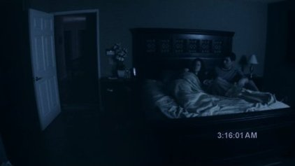 paranormal bed poster