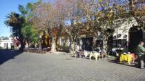 Cafes on the Plaza de Armas