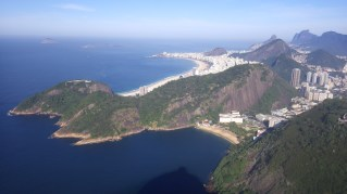 Views of Copacabana and Vermelha Bays