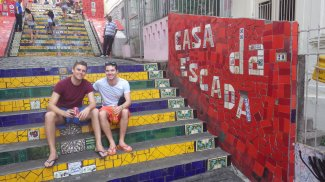 Me and Alex at Casa da Escada
