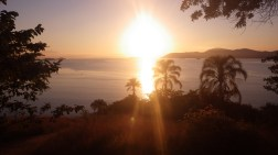 Sunrise view from the fort