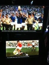 Cryff in '74 and Italy lifting the World Cup in '82