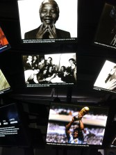 Linking political and footballing greats: Nelson Mandela and Maradona
