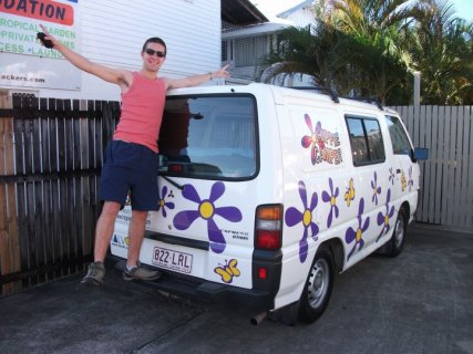 Setting off on my journey with Henry the Hippy Camper Van from Cairns