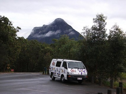 Henry at the Glasshouse Mountains