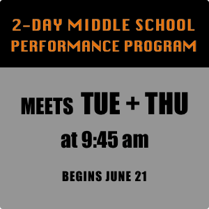 2-Day Middle School Program