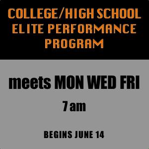 College-High School Elite Performance Program