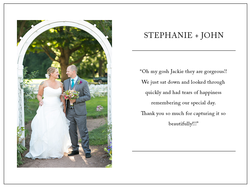 Review by Stephanie & John - 5 Stars!