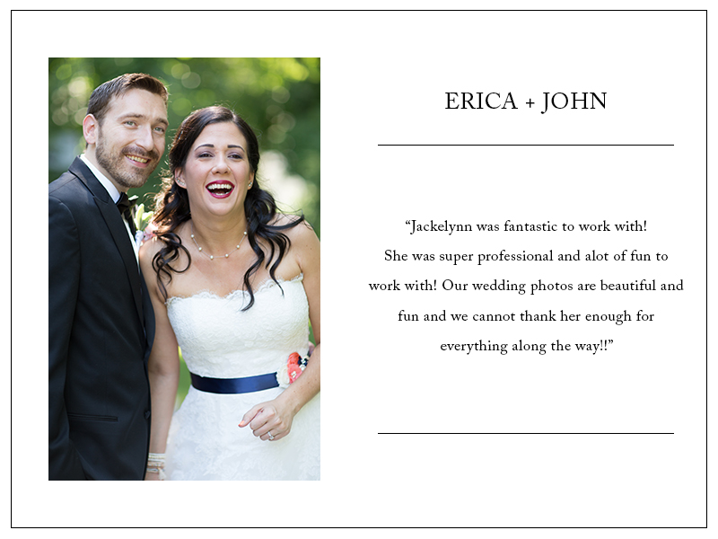 Review by Erica & John - 5 Stars