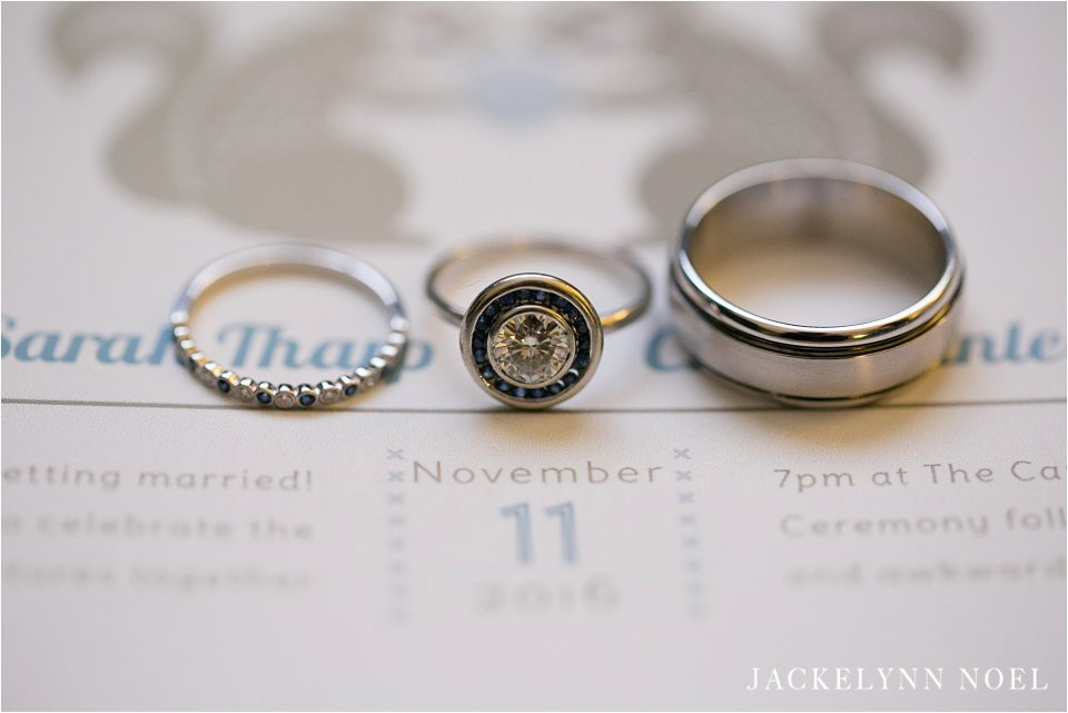 Wedding at Bissinger's Caramel Room in St. Louis by Jackelynn Noel Photography