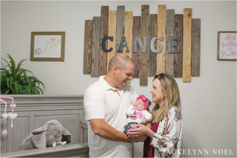 Welcome Brinkley! Highland Lifestyle Newborn Session by Jackelynn Noel Photography