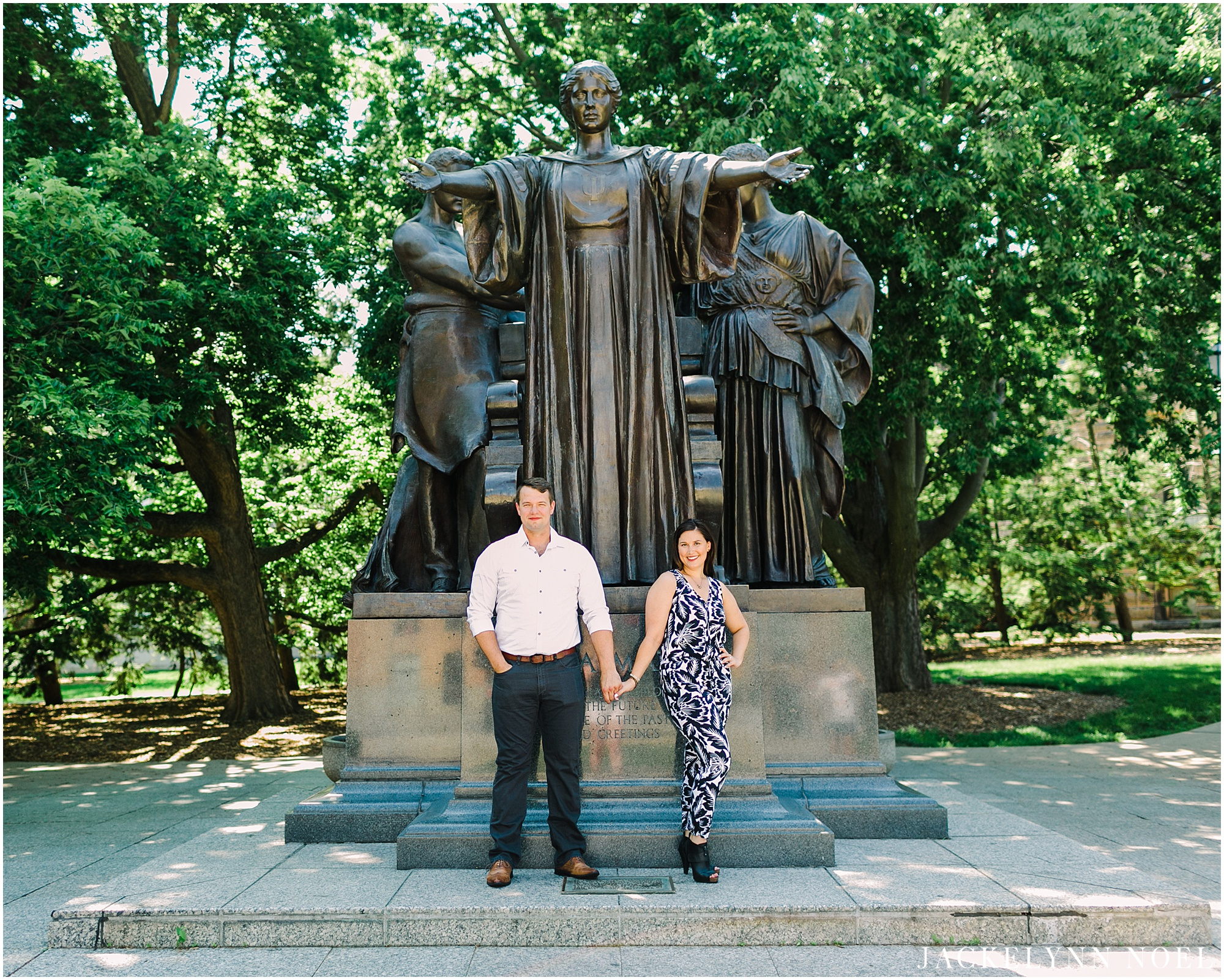 Corrie and Neal Engaged at the University of Illinois by Jackelynn Noel Photography
