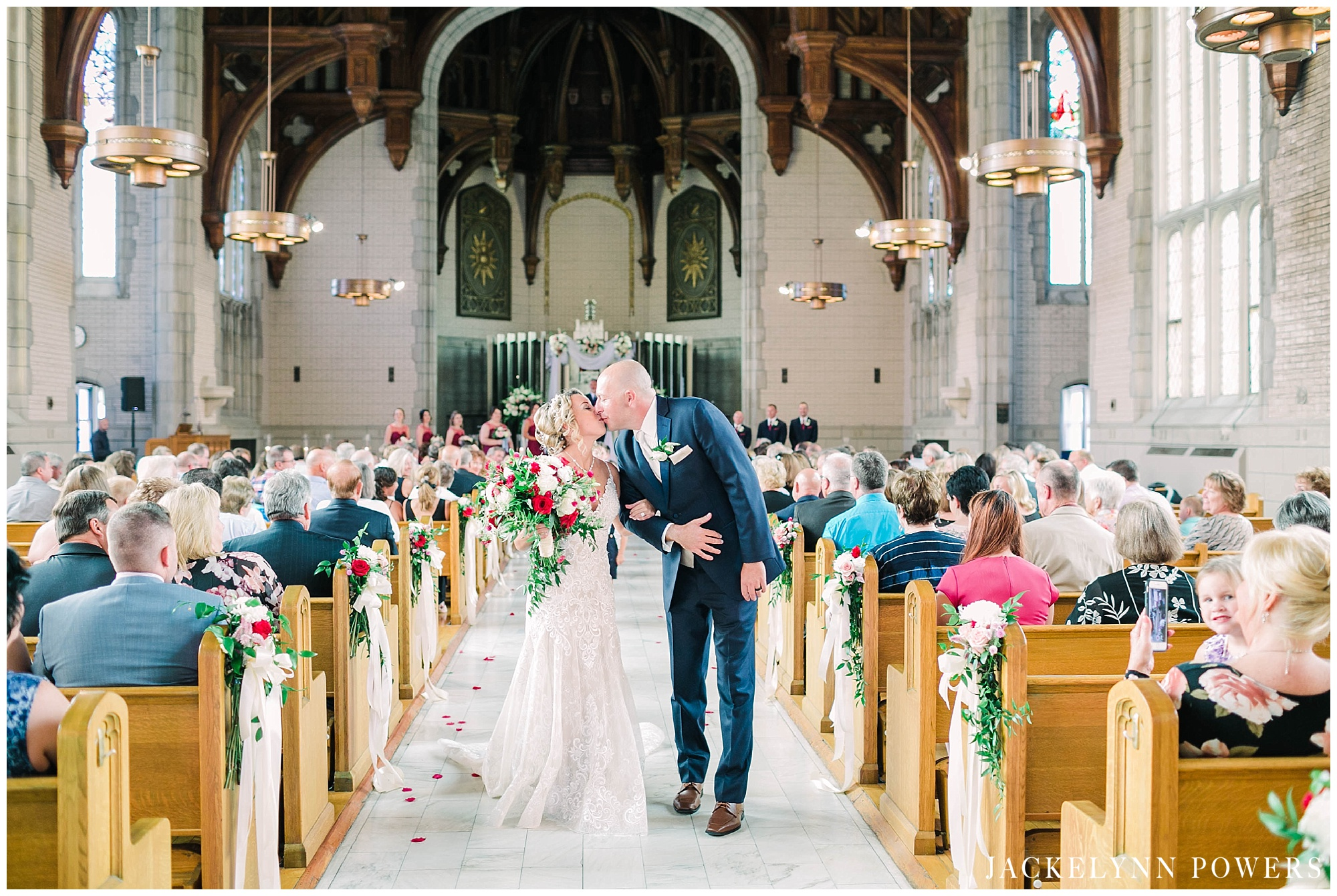 St Louis Wedding Chapel | Umsl Provincial Chapel Wedding By Jackelynn Noel Photography