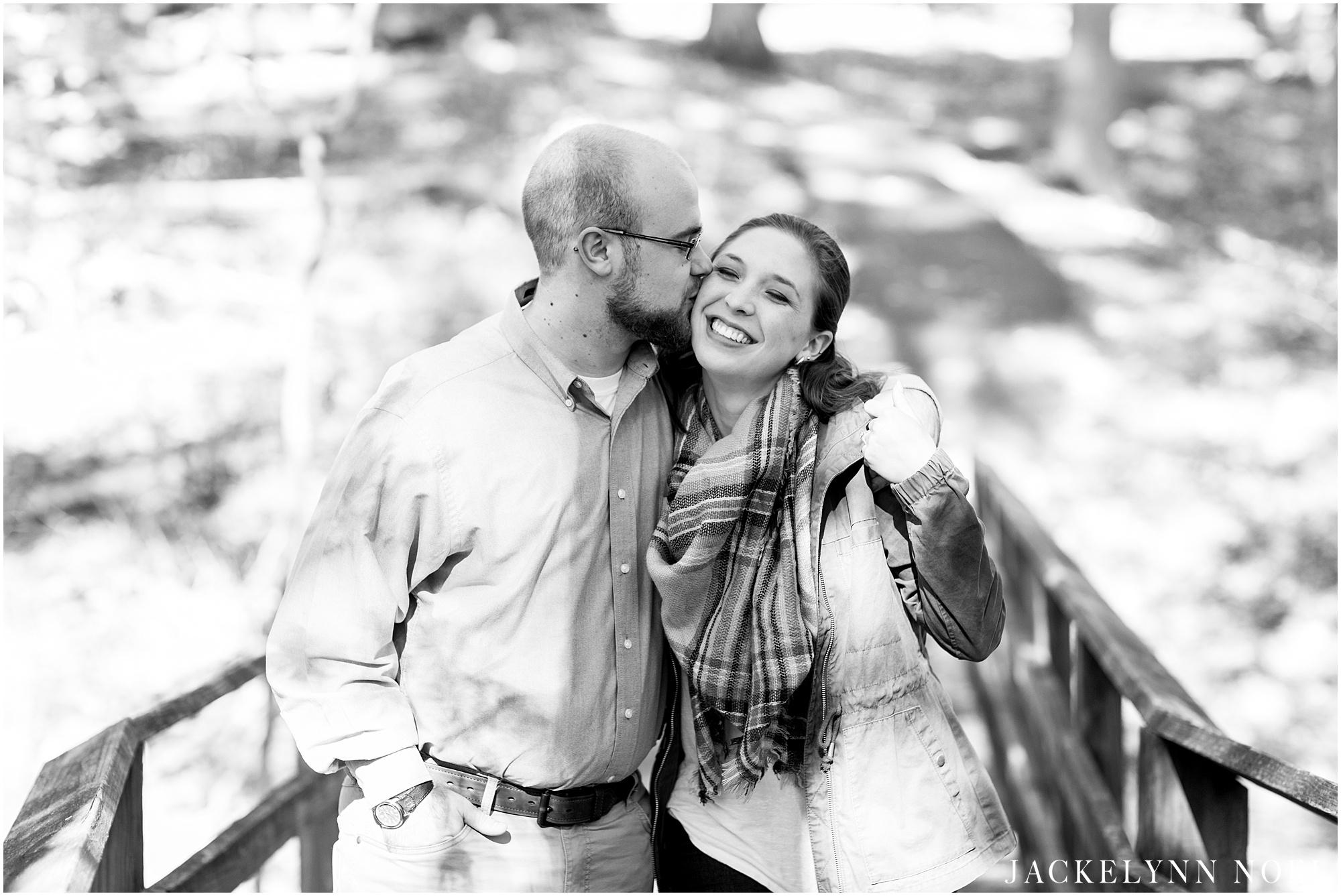 Rebecca & Jake - Powder Valley Kirkwood, Missouri Engagement Session by Jackelynn Noel Photography