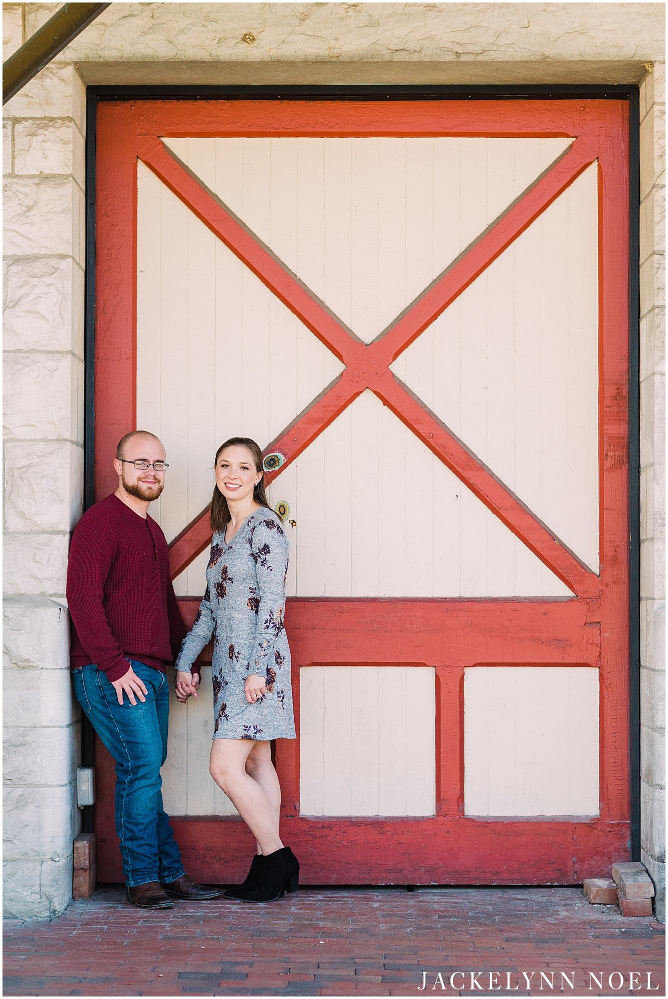 Rebecca & Jake - Kirkwood, Missouri Engagement Session by Jackelynn Noel Photography