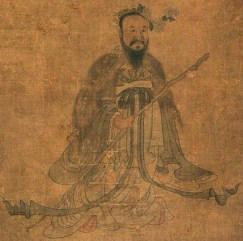 Portrait of Qu Yuan by Chen Hongshou