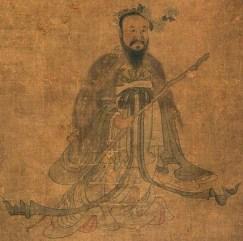 Portrait of Qu Yuan by Chen Hongshou