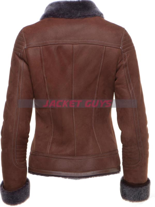 for sale women's shearling coat