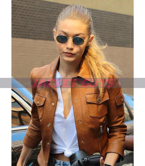 purchase now gigi hadid leather jacket