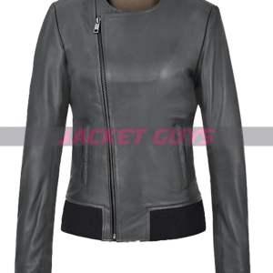 buy now jennifer aniston green leather jacket