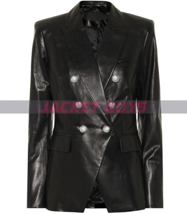 get now genuine black womens blazer
