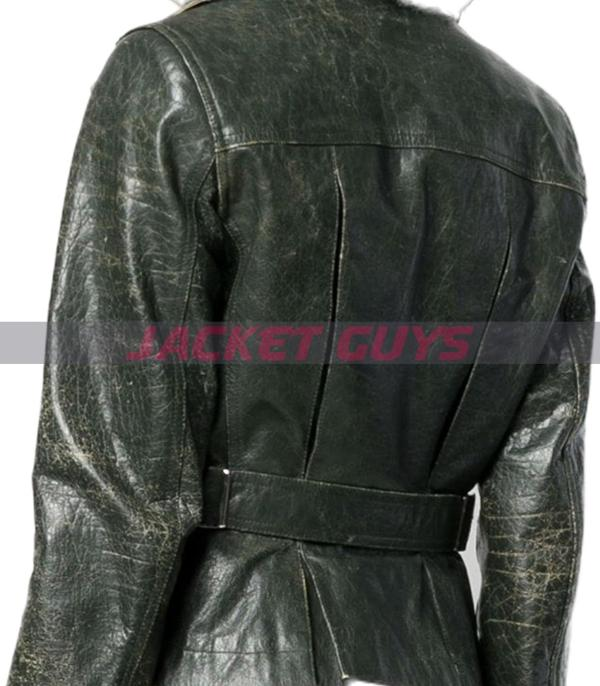 for sale ladies distressed leather jacket