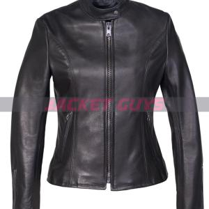 buy now black leather jacket