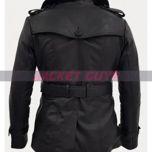 for sale women's trench leather coat
