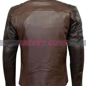 get now motorcycle leather jacket