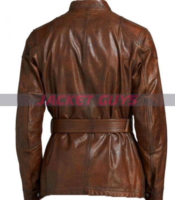 selling men's belt leather biker jacket