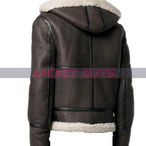 purchase now men shearling lamb leather jacket