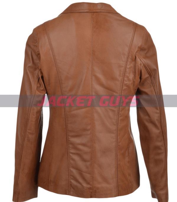 buy now womens leather blazer