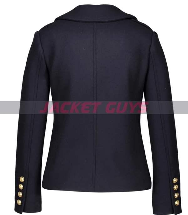 shop now women blue wool coat