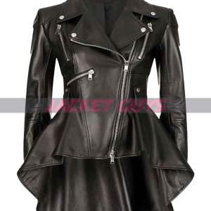 get now allison umbrella academy leather jacket
