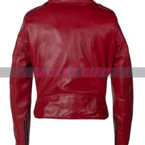on sale women biker leather jacket