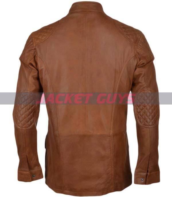 purchase now men brown leather jacke
