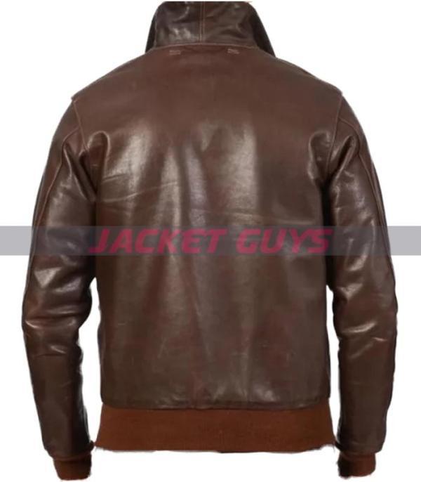 for sale mens dark brown leather jacket